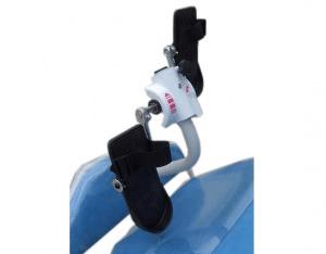 Ceci est l'option pédalier pour notre fauteuil de dialyse Actual Way